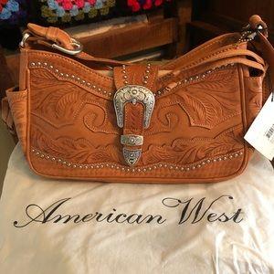 Leather American West Handbag